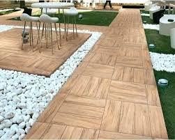 patio wooden decking tiles homebase wooden floor tiles