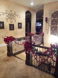 Home Decorating Ideas For Christmas Decorate The Stairs For Christmas U2013 30 Beautiful Ideas