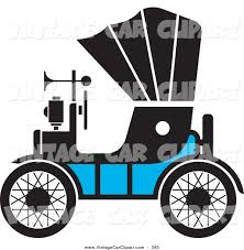 vintage cars clipart clipart of a vintage blue antique car with a horn by lal perera 385
