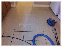 best way to clean tile grout this ceramic tile kitchen floor