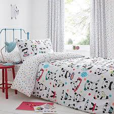 Childrens Curtains Debenhams Bluezoo Kids U0027 White U0027pandas U0027 Duvet Cover And Pillow Case Set
