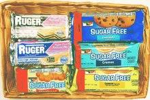 sugar free gift baskets diabeticfriendly sugar free cookie gift basket