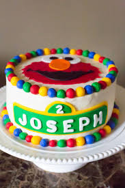 elmo birthday cakes joseph s 2nd birthday brown eyed baker