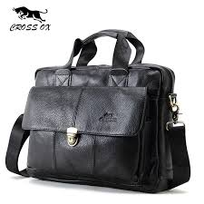 men s cross ox genuine leather bag casual men handbags cowhide men