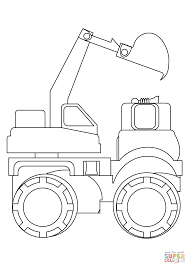 dumper coloring page free printable coloring pages