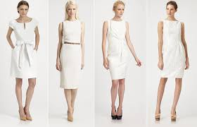 dresses to wear to graduation whites