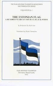 Blue White And Black Flag The Estonian Flag By Karl Aun