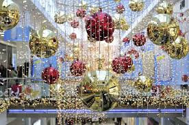 Christmas Decorations Shop Berlin by Stock Photo 12748834 Lush Christmas Decoration In A Shopping Mall