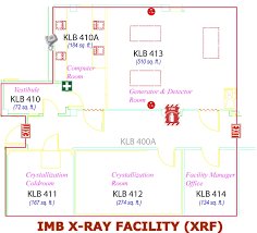 Computer Room Floor Plan Macromolecular X Ray Crystallography Facility Layout Furniture