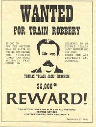 free printable western wanted posters thomas ketchum a k a black