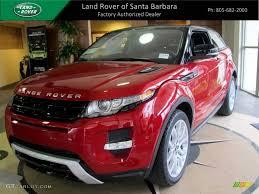 range rover coupe interior 2012 firenze red metallic land rover range rover evoque coupe