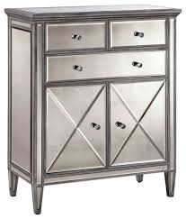 Accent Cabinets Dana 2 Door 3 Drawer Accent Cabinet Transitional Accent