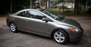 2006 honda civic 2 door purchase used 2006 honda civic ex coupe 2 door 1 8l in marstons