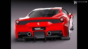 Ferrari 458 Models - ferrari 458 speciale 2014 3d model from creativecrash com youtube