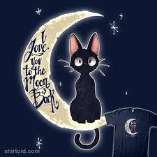 i you to the moon back shirtoid