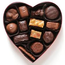 chocolate heart candy see s candies 8 ounce assorted chocolate heart chocolate gift