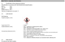 Ghs Safety Data Sheet Template Safety Data Sheets Educational Pages Tempil