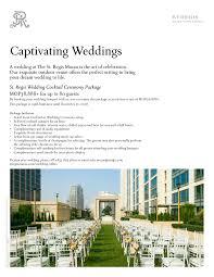 weddings st macao luxury hotel wedding the st regis macao macao wedding