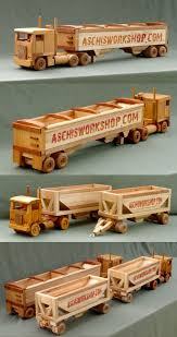 Plans For Wood Toy Trucks by 91 Best Wooden Semi Truck And Trailer Images On Pinterest Wood
