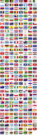 Flag Emoticons Flags Of The World Sorted Alphabetically Vector Other Free Download