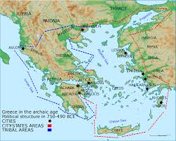 Map Greece by File Map Of Archaic Ancient Greece 750 490 Bc English V3 Svg
