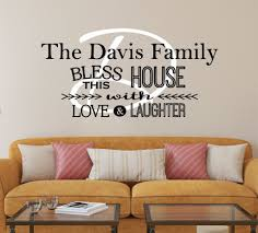 kitchen design quotes kitchen decals by decor designs decals bless this house wall decal