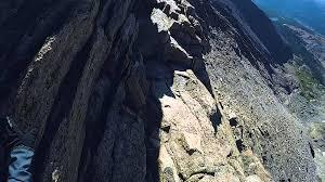 Longs Longs Peak Warning Keyhole Route 1 000ft Ledges Youtube