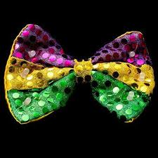 mardi gras bow tie led light up mardi gras sequin bow tie 12 pieces jenlyfavors