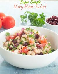 navy beans salad recipe vegan healing tomato recipes
