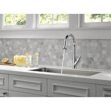 kitchen contemporary kraus sinks delta fuse faucet white delta