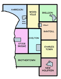 Wisconsin County Maps by Calumet County Wigenweb Page