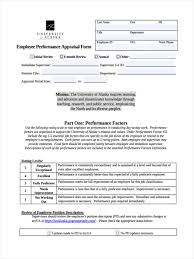 Performance Appraisal Report Sample Stunning Appraisal Review Form Ideas Office Worker Resume Sample
