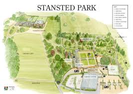 estate map map of stansted park estate