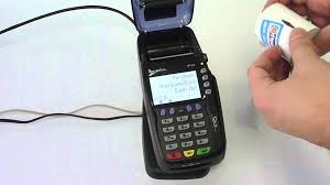 change the paper roll on your verifone vx570 eftpos terminal youtube