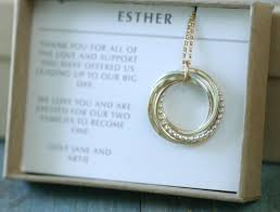 wedding gift necklace of the gift for of groom necklace for