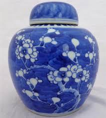 antique chinese blue u0026 white porcelain painted prunus hawthorn
