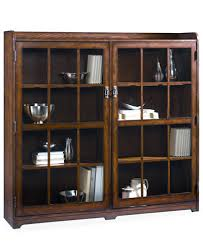 Storage Bookcase With Doors Sedona Door Bookcase Furniture Macy S