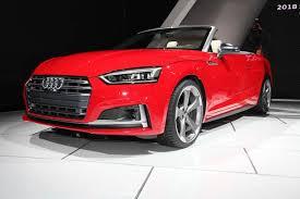 audi detroit 2018 audi a5 cabriolet q8 concept and sq5 detroit auto