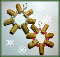 ornaments cork ornaments make it easy crafts