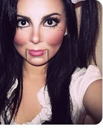 Halloween Doll Costumes 25 Doll Makeup Ideas Baby Doll Makeup