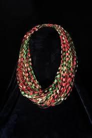 trellis ladder yarn necklace instructions crocheted ladder trellis yarn necklace 26ttkn18 ladder yarns