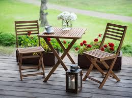patio bistro set light brown fiji beliani com
