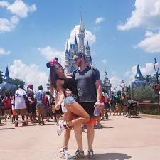 4th july disneyworld minnie mouse cute love couple