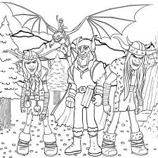 zippleback train dragon coloring pages bulk
