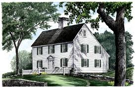 plan 32439wp saltbox style historical house plan 2nd floor