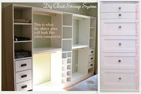 how to make closet organizer system drawers storage 2016 ideas