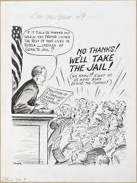 Iron Curtain Political Cartoons Red Scare Pointing Their Pens Herblock And Fellow Cartoonists