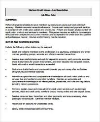 Job Description Of A Teller For Resume by Sample Bank Teller Resume 7 Examples In Word Pdf