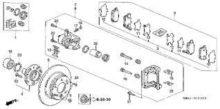 honda crv parts 2004 honda store 2004 crv rear brake parts