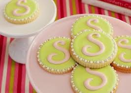 89 best cookies monogram images on monogram cookies